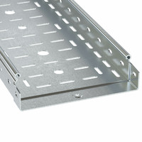 Лоток перфорированный 300х50 L3000 сталь 1мм ДКС 3526510 DKC (ДКС)