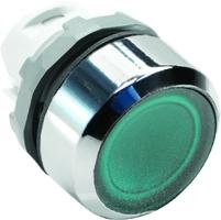 Кнопка MP1-21G зеленая (только корпус) с подсветкой без фиксации | 1SFA611100R2102 ABB купить по оптовой цене