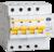 Выключатель автоматический дифференциального тока 4п C 40А 300мА тип AC 4.5кА АД-14 IEK MAD10-4-040-C-300 (ИЭК)