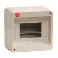 Щит распределительный навесной ЩРн-П-8 пластиковый без двери IP40 серый 83608 DKC, цена, купить