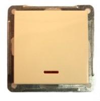 Переключатель 1-кл. СП W59 IP44 c инд. без рамки 250В 16АХ сл. кость SchE VS616-157B-2-86 Schneider Electric купить по оптовой цене