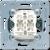 Выключатель двухклавишный (механизм) 10A (505U) JUNG