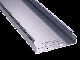 Лоток неперфорированный 400х 50х3000х1,0мм   35026 DKC (ДКС) листовой L3000 сталь 1мм купить в Москве по низкой цене