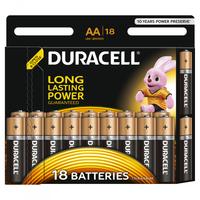 Батарейка Щелочнная (Алкалиновая) (AA) LR6-18BL BASIC | Б0014448 81483682 Duracell купить по оптовой цене
