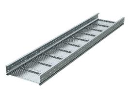 Лоток перфорированный 400х200х3000х2мм, лонжерон   USH324 DKC (ДКС) листовой 200x400 2 мм L3000 сталь 2мм тяжелый цена, купить