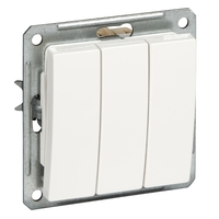 Механизм выключателя 3-кл. СП W59 16А IP20 черн. бархат SchE VS0516-351-6-86 (ВС0516-351-6-86) Schneider Electric купить по оптовой цене