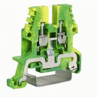 Зажим для заземления TEO.2 желто-зеленый 2.5 кв.мм ZTO910-RET DKC, цена, купить