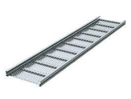 Лоток перфорированный 400х100 L6000 сталь 2мм тяжелый (лонжерон) ДКС USH614 DKC (ДКС) листовой 100х400 2 мм цена, купить