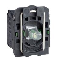 Корпус 22мм LED 24В AC/DC 2НО винт. заж | ZB5AW0B33 Schneider Electric Кнопка с подсветкой для зел цена, купить