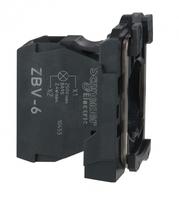 Блок сигнальный до 250В с клем. заж. для BA9S SchE ZBV6 Schneider Electric купить в Москве по низкой цене