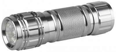 Фонарь универсальный 9xLED 3хААА SD9 алюминиевый   C0027216 ЭРА (Энергия света) бл металл LED) купить в Москве по низкой цене