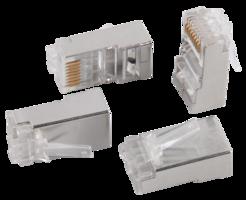 Разъем RJ45 FTP для кабеля категории 6 8P8C ITK (CS3-1C6F) IEK (ИЭК) купить по оптовой цене