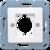 Крышка XLR штепсельного разъема (168-1WW) JUNG