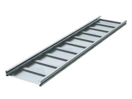 Лоток неперфорированный 400х80 L3000 сталь 2мм тяжелый (лонжерон) ДКС UNH384 DKC (ДКС) листовой 80х400 2 мм цена, купить