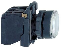 КНОПКА 22ММ ДО 250В БЕЛАЯ С ПОДСВЕТКОЙ | XB5AW3165 Schneider Electric возвр цена, купить