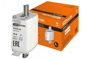 ППНН-33 габ.00, 40А SQ0713-0004 TDM ELECTRIC купить по оптовой цене