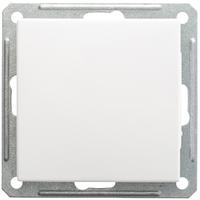 Механизм выключателя 1-кл. W59 с самовозвр. 10АХ бел. SchE VS110-155-1-86 Schneider Electric купить по оптовой цене