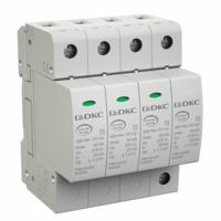 Ограничитель перенапряжения класс II 4П L1-L2-L3-N-PE 40кА (8/20) с удаленным контролем NX2042 DKC, цена, купить