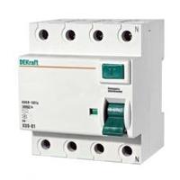 Выключатель дифференциального тока (УЗО) 4п 32А 30мА тип AC 6кА УЗО-03 DeKraft 14079DEK Schneider Electric купить по оптовой цене