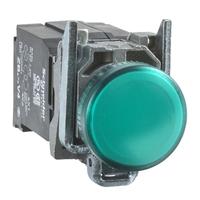 Лампа сигнальная SE HARMONY XB4 d22мм встроен. светодиод зел. SchE XB4BV5B3 Schneider Electric ДИАМЕТР 22 ММ 400 В цена, купить