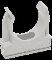 Держатель с защёлкой CF20 | CTA10D-CF20-K41-100 IEK (ИЭК) 20 мм для труб купить в Москве по низкой цене