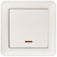 Выключатель одноклавишный с индикацией ВС116-153-18/VS116-153-18 Wessen W59 Schneider Electric купить по оптовой цене