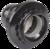 Пкб27-04-К11 Патрон карболитовый с кольцом, Е27, черный (50 шт), стикер на изделии, IEK