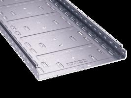 Лоток перфорированный 400х100х3000х0,9мм   35345 DKC (ДКС) листовой L3000 сталь 1мм купить в Москве по низкой цене