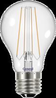Лампа светодиодная LED 13Вт Е27 220В 4500К GLDEN-A60S-13-230-E27-4500 1/10/100 filament | 646000 General купить по оптовой цене