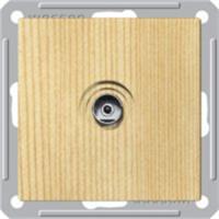 Механизм розетки TV 1-м СП W59 оконечная сосна SchE RTS-151-7-86 (РТС-151-7-86) Schneider Electric купить по оптовой цене