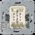 Кнопка с нейтральным положением 4072.02LED JUNG