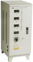 Стабилизатор напряжения 3-фаз. 6000ВА предельно допустимое линейное- 250В 3% IEK IVS10-3-06000* (ИЭК) купить по оптовой цене