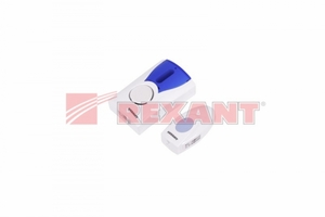 Беспроводной дверной звонок кнопка IP 44 RX-3   73-0030 REXANT купить по оптовой цене