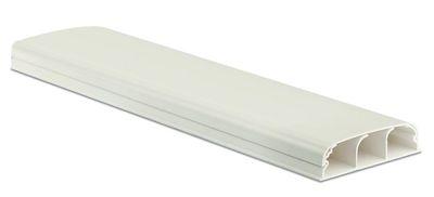 Кабель-канал плинтусного типа 90х25 мм. 3-секционный. с крышкой   09200 DKC (ДКС) треxсекционный IN-Liner FRONT L2000 купить по низким ценам