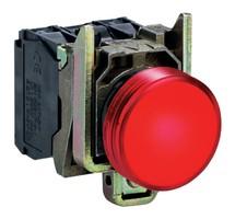 Лампа сигнальная 22мм 24в светодиодная красная Schneider Electric