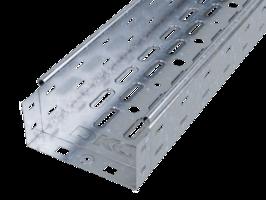 Лоток перфорированный 80х80 L2000 сталь 0.7мм ДКС 35311 DKC (ДКС) листовой купить в Москве по низкой цене