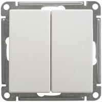 Механизм переключателя 2-кл. W59 10АХ бел. SchE VS610-256-1-86 Schneider Electric купить по оптовой цене