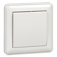 Выключатель 1-кл. СП W59 10А IP20 10АХ в сборе бел. SchE VS110-154-18 Schneider Electric купить по оптовой цене