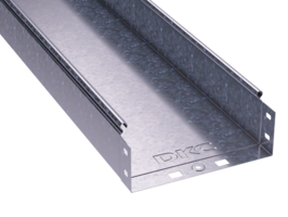 Лоток неперфорированный 200х 80х3000х0,8мм | 35064 DKC (ДКС) листовой L3000 сталь купить в Москве по низкой цене