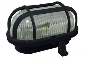 Светильник НБП 02-60-004.03У 60Вт ЛН E27 IP54 Евро корпус и защитная сетка, черный | SQ0312-0002 TDM ELECTRIC купить по оптовой цене