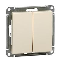 Механизм выключателя 2-кл. СП W59 10А IP20 10АХ сл. кость SchE VS510-252-2-86 Schneider Electric купить по оптовой цене