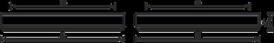 Светильник ЛПО OPL/S 418 HF 4х18Вт Т8 G13 ЭПРА IP20   1057000250 Световые Технологии