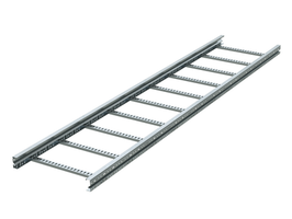 Лоток лестничный 400х 80х3000х1,5мм, лонжерон, цинк-ламельный   ULM384ZL DKC (ДКС) L3000 сталь цена, купить