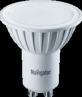 Лампа светодиодная LED 5Вт GU10 230В 3000К NLL-PAR16-5-230-3K-GU10 отражатель (рефлектор) | 94264 Navigator 18588 264 тепл бел 360лм 170-260В купить в Москве по низкой цене