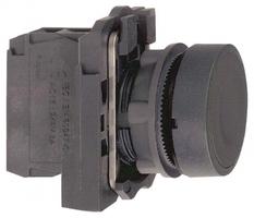 Кнопка черная без фиксации 22мм 1но Schneider Electric XB5AA21 С ВОЗВРАТОМ подсветки купить в Москве по низкой цене