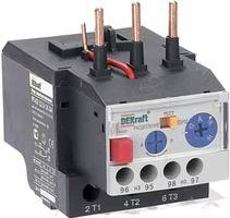 Реле электротепловое для контакторов 25-32А 12,0-18,0А РТ-03 23120DEK DEKraft SE Schneider Electric купить по оптовой цене