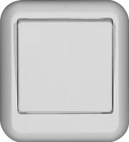 ПРИМА Выключатель одноклавишный наружный белый индивидуальная упаковка VA1U-112I-BI Schneider Electric, цена, купить
