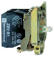 КОРПУС КНОПКИ 22ММ 24В С ПОДСВЕТКОЙ ZB4BW0B35   Schneider Electric зеленый цена, купить