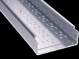 Лоток перфорированный 150х 80х3000х1,0мм | 3530310 DKC (ДКС) листовой L3000 сталь 1мм толщина купить в Москве по низкой цене
