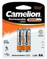 Аккумулятор R6 NI-MN 2000мА.ч BP-2 (блист.2шт) Camelion 3504 купить по оптовой цене
